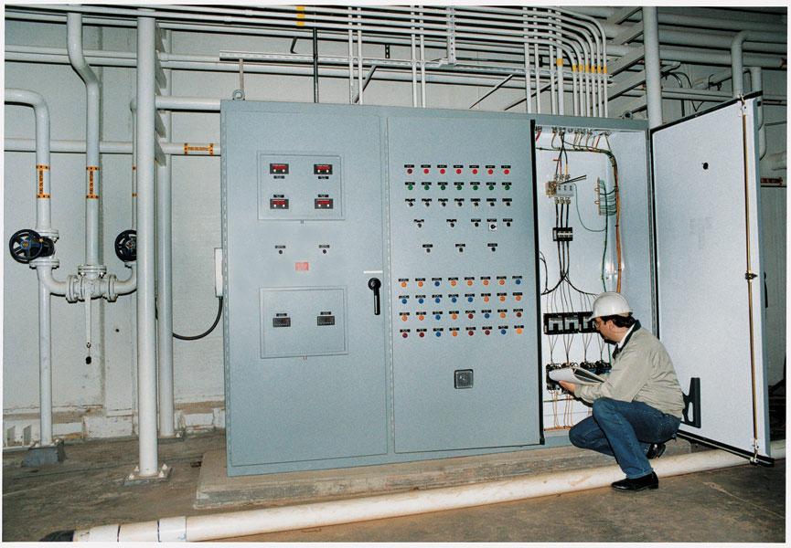 3 Door Master Control Panel