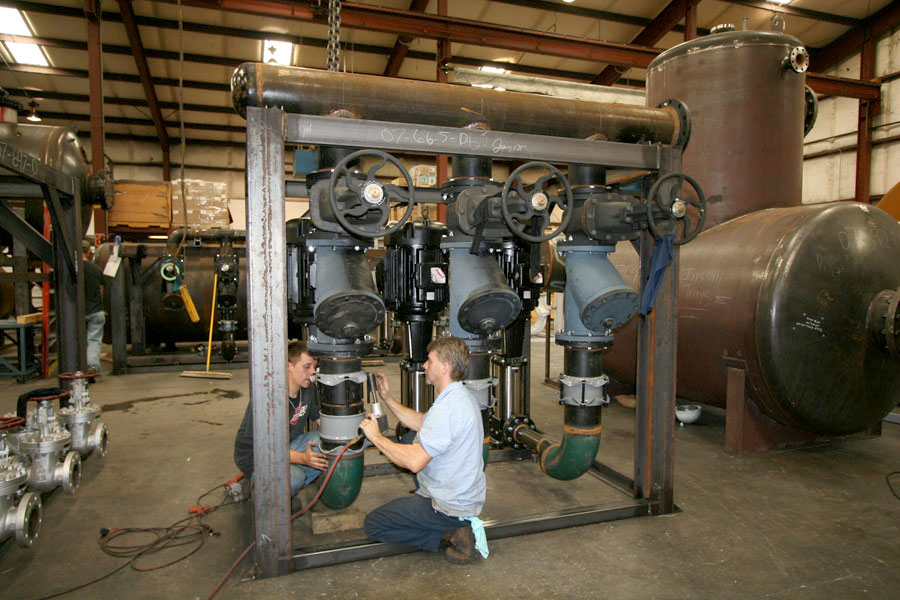 Pump-pipe assembly
