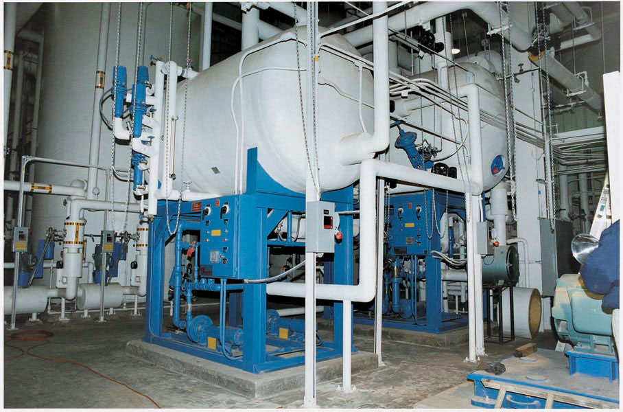 100,000 pph deaerator and surge systems