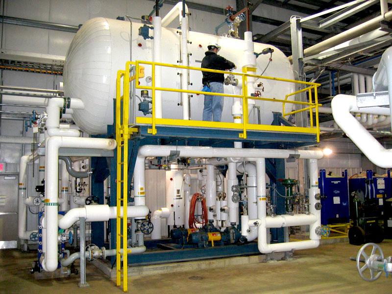 4000 gallon surge-transfer system