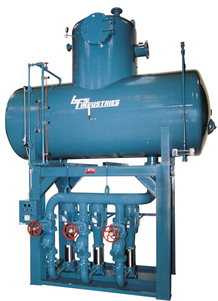 90,000 pph Tray Type deaerator