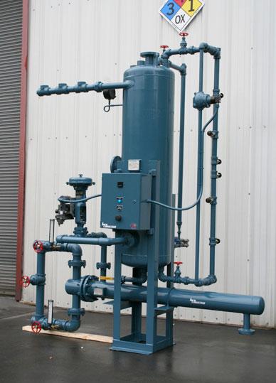 Blowdown Heat Recovery System
