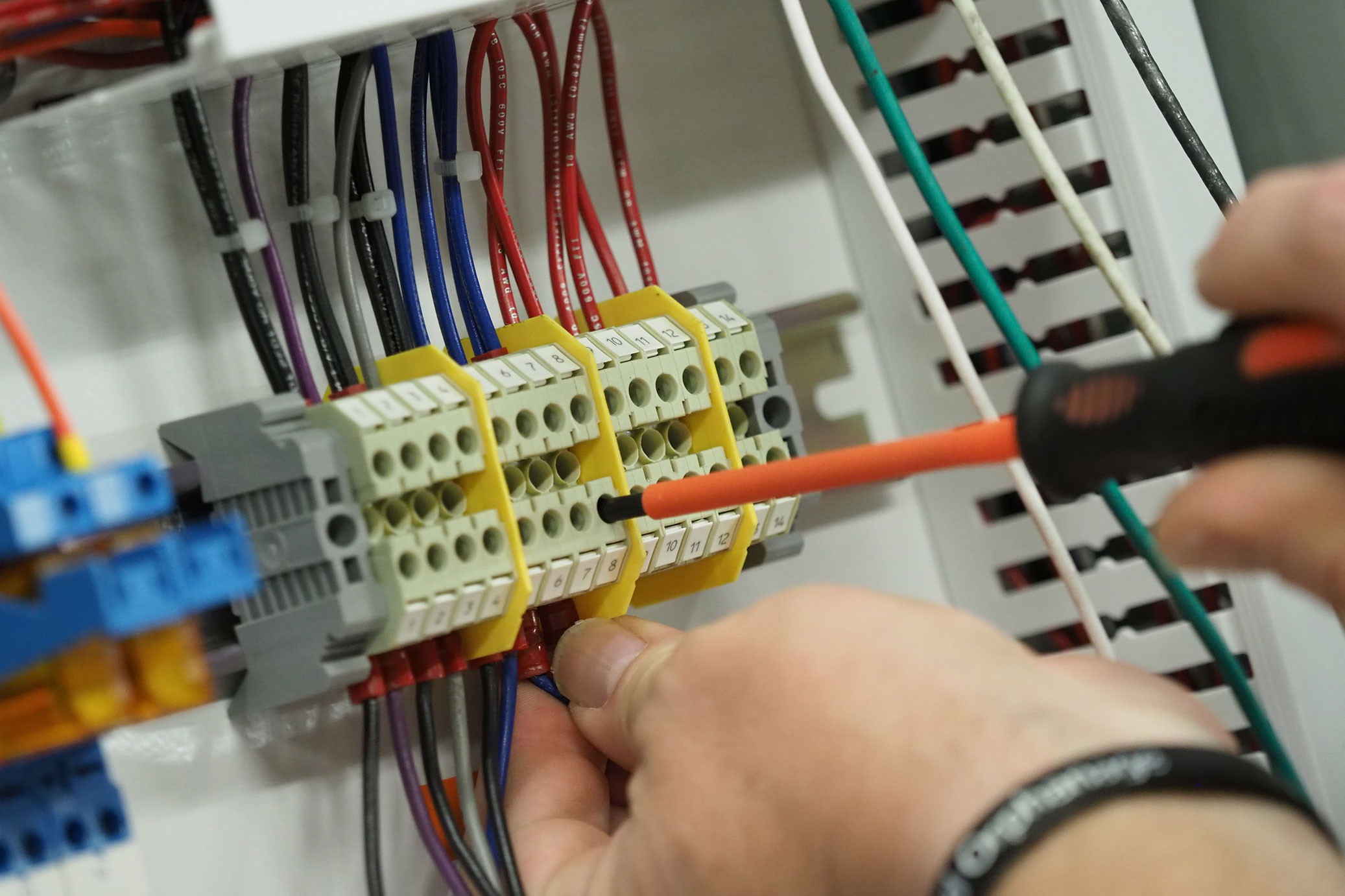 Control panel circuits