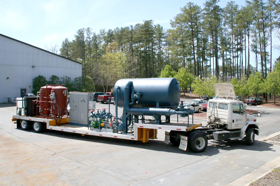 Mobile Water Treatment Trailer-80,000 #hr