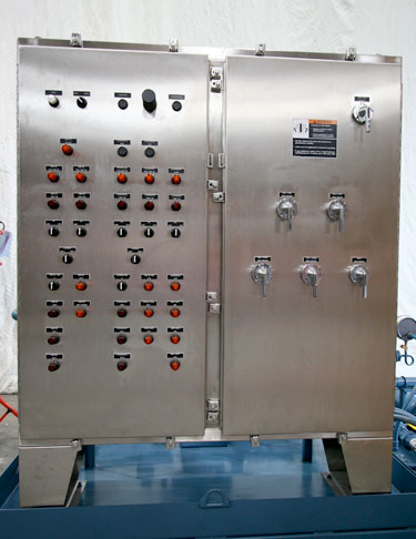 NEMA 4X Master Control Panel