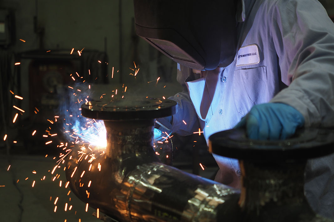 BFS Industries engineer welding